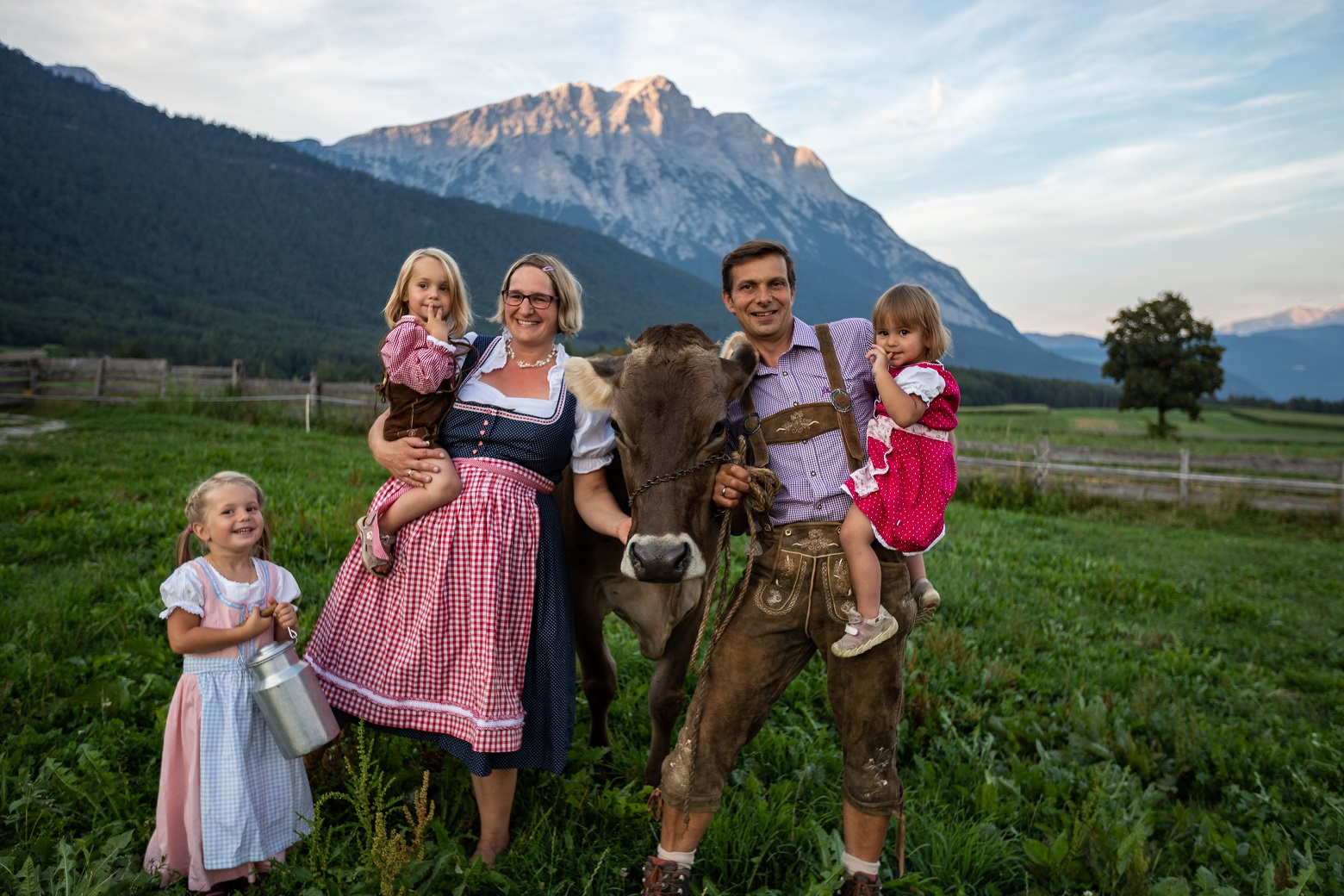 Familie Urlaub Bauernhof Sonnenplateu